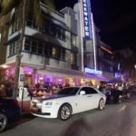 Rolls in front of Breakwater Hotel, Ocean Drive