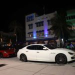White Maserati on Ocean Drive South Beach